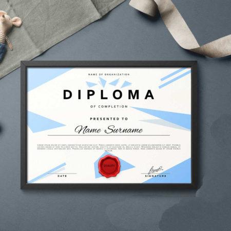 Дипломы А4