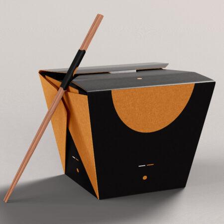 Коробки для лапши (WOK, pastabox) — Типография Новапринт Полтава